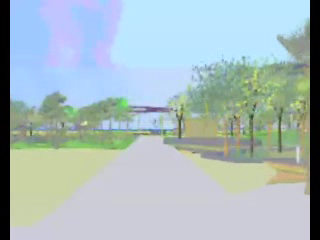 play video - A virtual walk through Kingscliff Central Park - low resolution